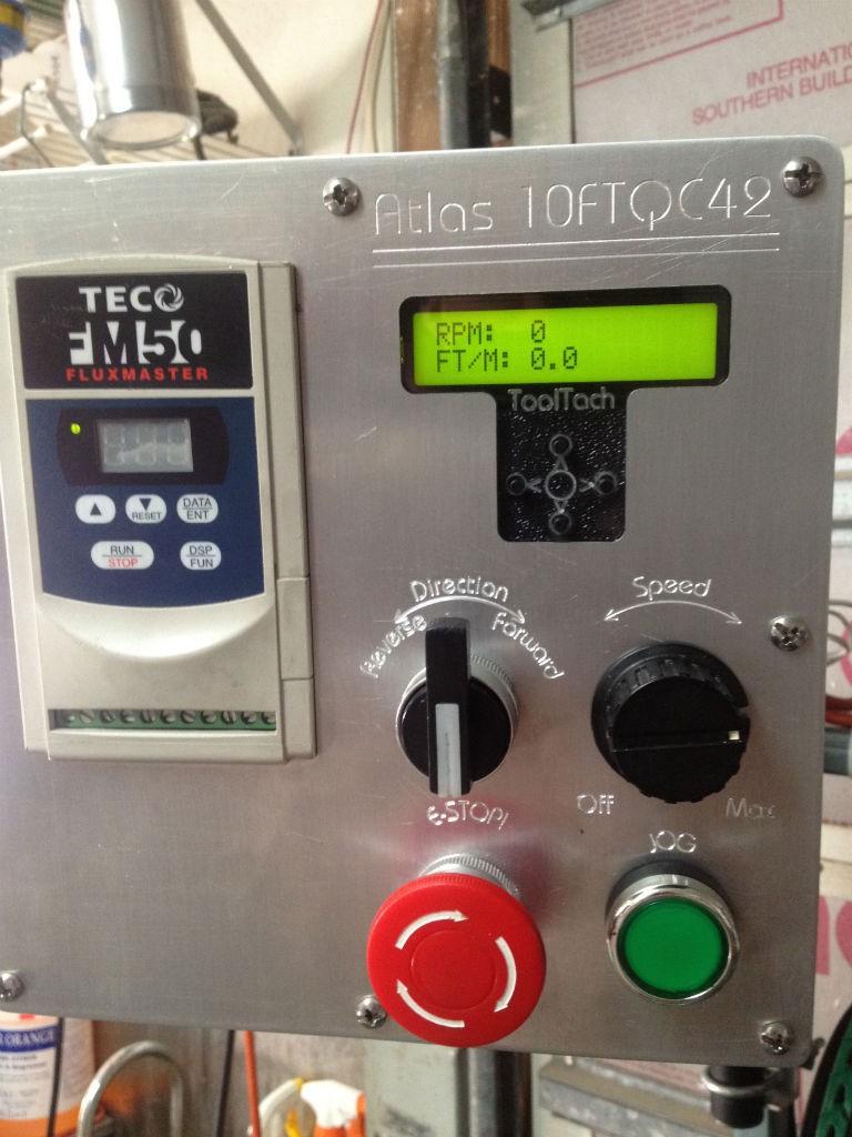 Atlas Lathe VFD-Controller-Tach-008
