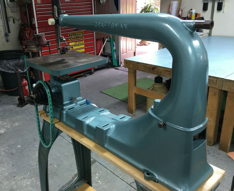 Craftsman aka walker turner 24 scroll saw 1930s hypelinks link belts are the best greentooth Choice Image