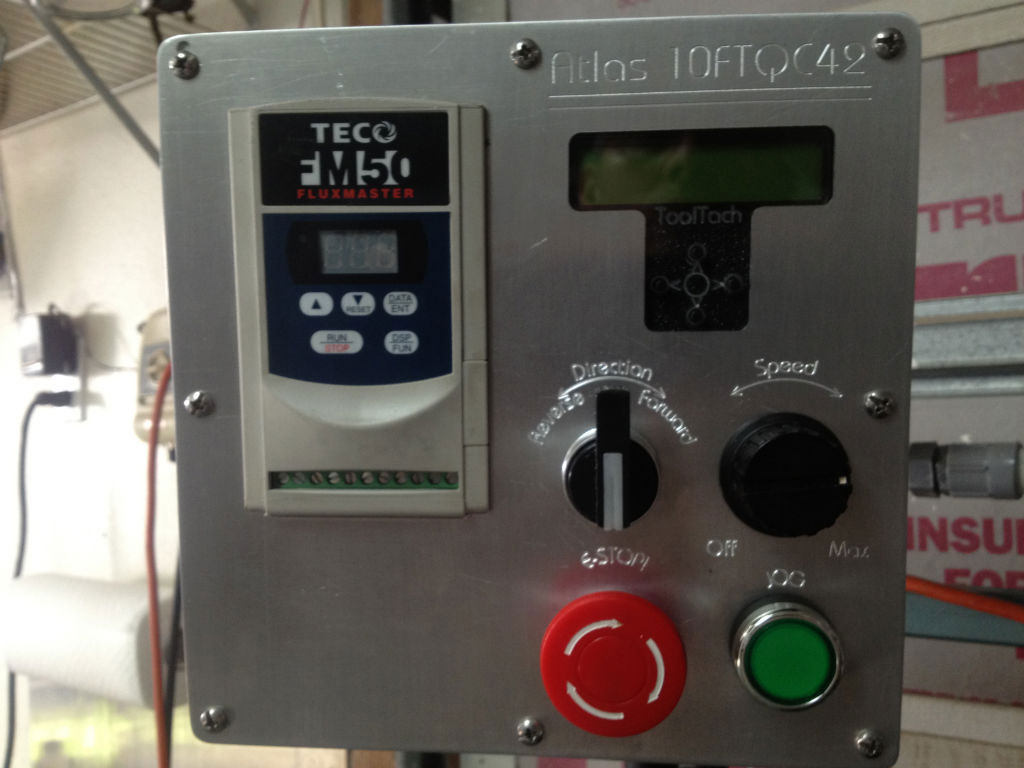 Atlas Lathe VFD-Controller-Tach-006