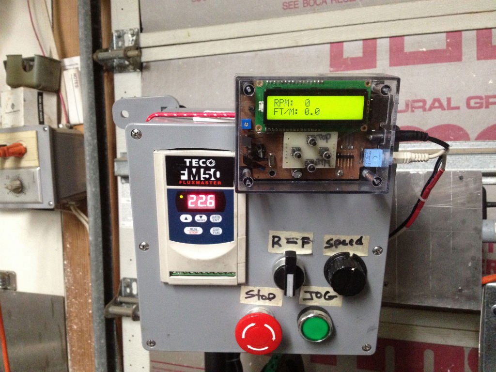 Atlas Lathe VFD-Controller-Tach-001